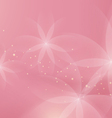 Abstract Floral Light Pink Background for Design vector image