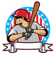 Baseball player vector | Price: 3 Credits (USD $3)
