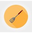 Kitchen shovel icon vector image vector image