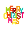 Merry Christmas Card - EPS10 vector image vector image