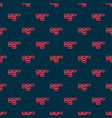 red line site map icon isolated seamless pattern