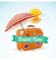Travel Concept Banner Card vector image