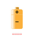 battery it is icon vector image vector image
