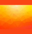 brightly orange background vector image vector image