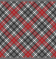 check plaid diagonal fabric texture seamless vector image
