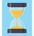 Hourglass Sandglass Icon in Flat Style vector image