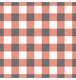 plaid tablecloth seamless vector image vector image