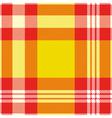 seamless madras plaid pattern print vector image vector image
