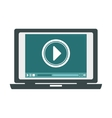 video or film icon image vector image vector image