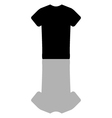 icon t shirt vector image