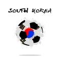 Abstract Soccer ball vector image vector image