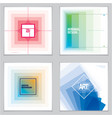 brochure design templates minimal design modern vector image