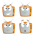 Cartoon tv vector | Price: 1 Credit (USD $1)