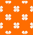 clover leaf pattern seamless vector image vector image