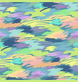 colored brush strokes vector image vector image