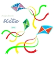 Kites vector image