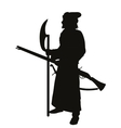 Medieval shooter Warriors Theme vector image vector image