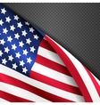 patriotic background with american vector image vector image