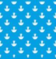 perfume bottle london pattern seamless blue vector image vector image