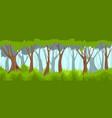 summer forest backround vector image