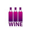 wine market vector image