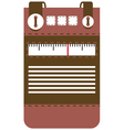 Case for mobile phone radio vector image vector image
