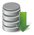 Download database vector image vector image