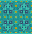 geometrical ornament in aztec style vector image vector image