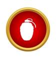 Grenade icon in simple style vector image vector image