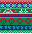 knit border patterns vector image vector image