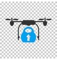 Load Cargo Drone Icon vector image vector image
