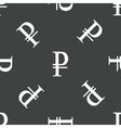 Ruble symbol pattern vector image vector image