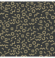 seamless pattern gold vector image vector image