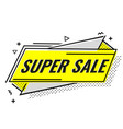 super sale special offer vector image