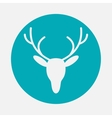 deer head icon vector image vector image