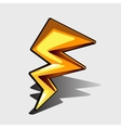Lightning bolt for games and other design needs vector image vector image