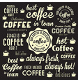 Retro Coffee Badges and Labels Collection vector image vector image