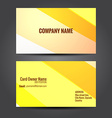 simple and clean business template design vector image vector image
