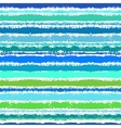 Striped pattern inspired by sea waves vector image vector image