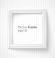 White square 3d photo frame with shadow vector | Price: 1 Credit (USD $1)