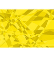 Yellow Crystalline Background vector image vector image