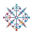 snowflake creative icon image vector image