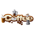 coffee concept vector image