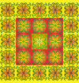geometric pattern from the patterns of summer vector image