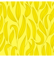 gold floral seamless vector image vector image