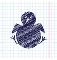 Little bird icon vector image vector image