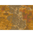 natural rusty texture imitation of rust vector image