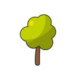 natural tree to ecology care icon vector image vector image
