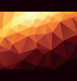ocher geometric background vector image