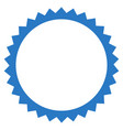 seal frame flat icon vector image vector image